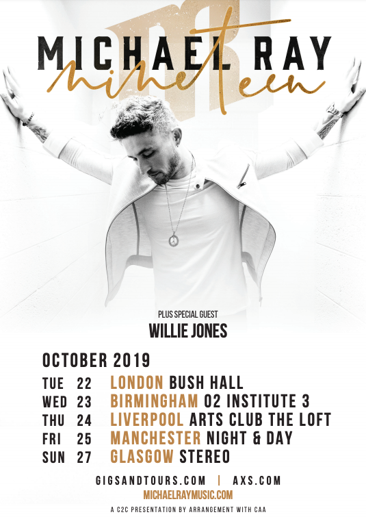 Image result for michael ray gigs 2019